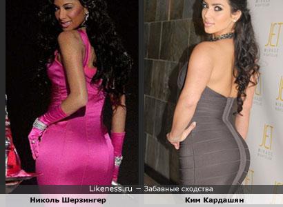 Николь Шерзингер похожа на Ким Кардашян