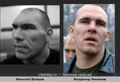 Владимир Ячменев похож на Николая Валуева