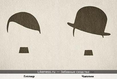 Гитлер и Чаплин: все дело в шляпе