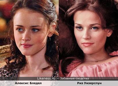 Алексис бледел на likeness ru 12 сходств