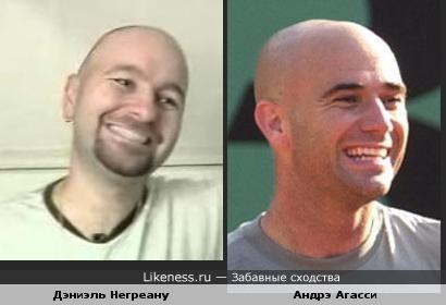 Многократный чемпион мира по покеру Дэниэль Негреану похож на теннесиста Андрэ Агасси