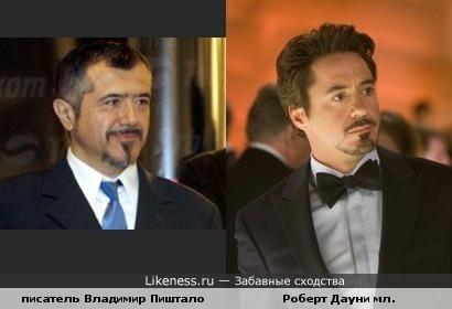 Владимир Пиштало похож на Роберта Дауни младшего