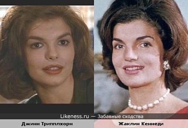 Джинн Трипплхорн похожа на Жаклин Кеннеди
