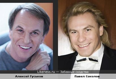 Алексей Гуськов похож на Павла Соколова