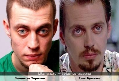 Валентин Терехов напоминает Стива Бушеми