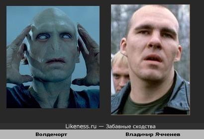 Волдеморт похож на Владимира Ячменева