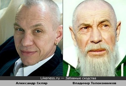Александр Скляр похож на Владимира Толоконникова