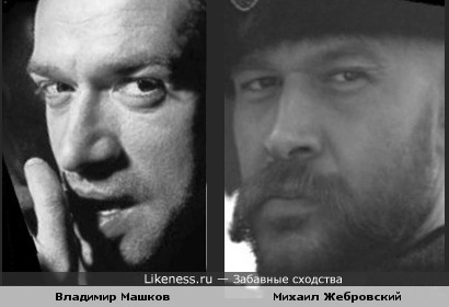 Владимир Машков похож на Михаила Жебровского