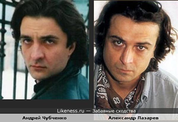 """Андрей Чубченко (""""Запрещенная реальность"""") похож на Александра Лазарева-младшего"""