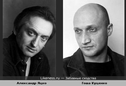 Александр Яцко похож на Гошу Куценко