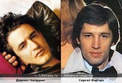 Дермот Малруни и Сергей Варчук чем-то похожи