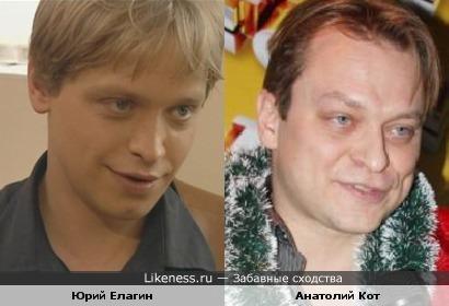 Юрий Елагин и Анатолий Кот похожи