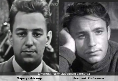 Немецкий певец 60-х годов похож на Николая Рыбникова