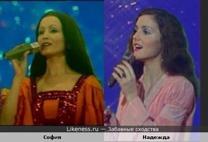 """Которая из них пела """"Меланхолию"""" в Песне 82 (фотографии взяты из Песни 77)?"""