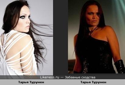 Тарья Турунен похожа на себя