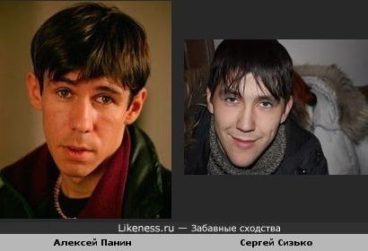 Мой знакомый Сергей похож на Алексея Панина