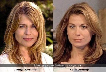 """Линда Хэмилтон (Сара Коннор """"Терминатор"""") похожа на Соню Уолгер (""""Вспомни что будет&q"""