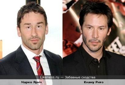 Марко Ярич (баскетболист) похож на Киану Ривза