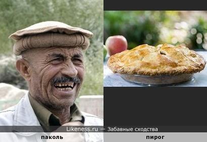 Паколь (головной убор) напоминает пирог