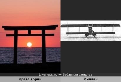 """Японские ритуальные врата """"тории"""