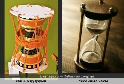 """Японский барабан """"сан-но цудзуми"""