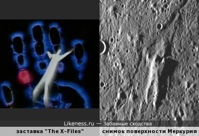 Упал на Меркурий