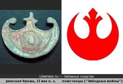 """В форме античного щита """"пельта"""""""