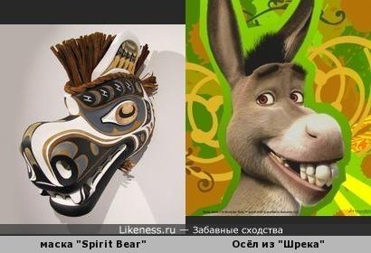 """Индейская маска """"Spirit Bear"""