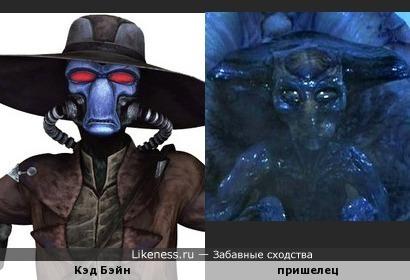 """Кэд Бэйн из мультсериала """"Звёздные войны: Войны клонов"""