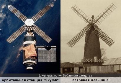 """Американская орбитальная станция """"Skylab"""