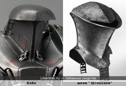 """Голова робота Кейна из фильма """"Робот-полицейский-2"""