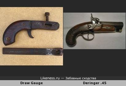 """Инструмент для резки кожи напоминает карманный пистолет """"Дерринджер"""""""