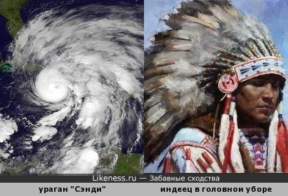"Ураган ""Сэнди"