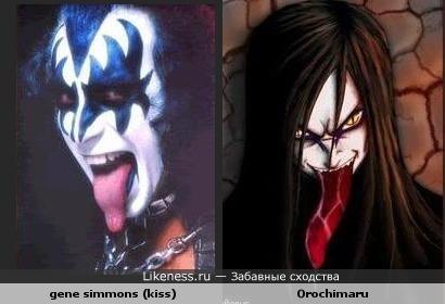 Orochimaru...... gene simmons