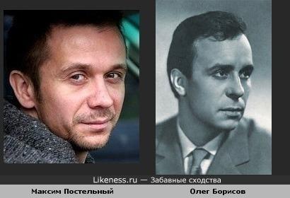 Олег Борисов на Максима Постельного