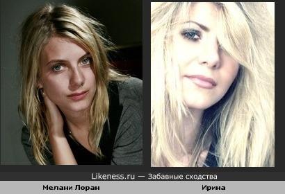 Мелани Лоран, Ирина