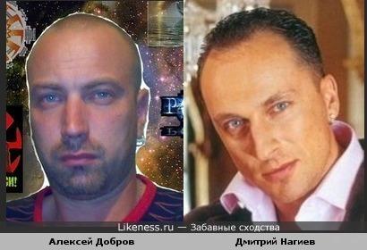 Дмитрий Нагиев похож на Алексея Доброва