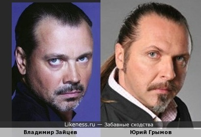 Владимир Зайцев похож на Юрия Грымова