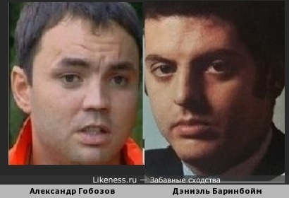 Дэниэль Баринбойм похож на Александра Гобозова