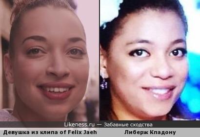 Девушка из клипа of Felix Jaehn двойник Либерж