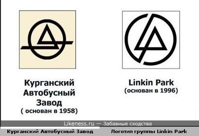 Стало известно, где группа Linkin Park взяла свой логотип )