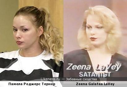 Соблазнительная учительница похожа на дочь ЛаВея