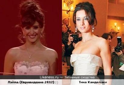 Лэйла (Евровидение 2012) - Тина Канделаки