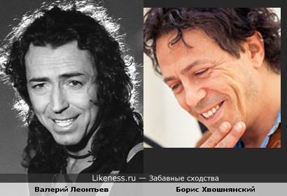 Валерий Леонтьев здесь напомнил Бориса Хвошнянского