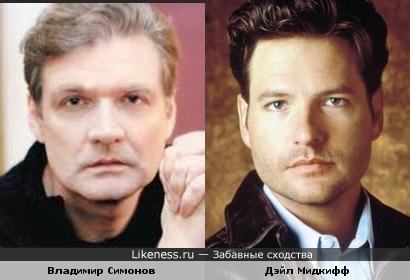 Владимир Симонов и Дэйл Мидкифф