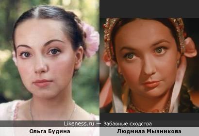 Ольга Будина и Людмила Мызникова