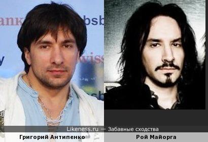 Рой Майорга тут напомнил Григория Антипенко (только в гриме)