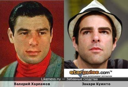 Валерий Харламов и Закари Куинто
