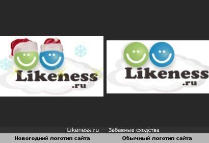 Обычный логотип сайта похож на мою работу в фотошопе