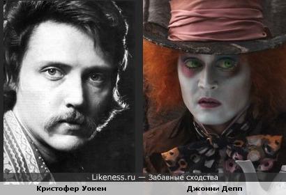"""В """"Алисе"""" Джонни Депп превратился в Кристофера Уокена"""
